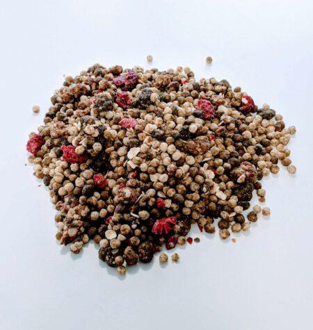 Hanf-Proteinmüsli | Himbeer-Erdnuss
