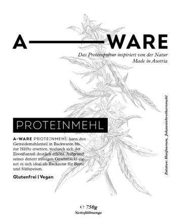 Hanf-Proteinmehl